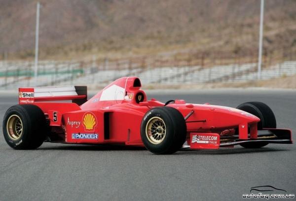 Продаётся гоночная Ferrari F310 Шумахера