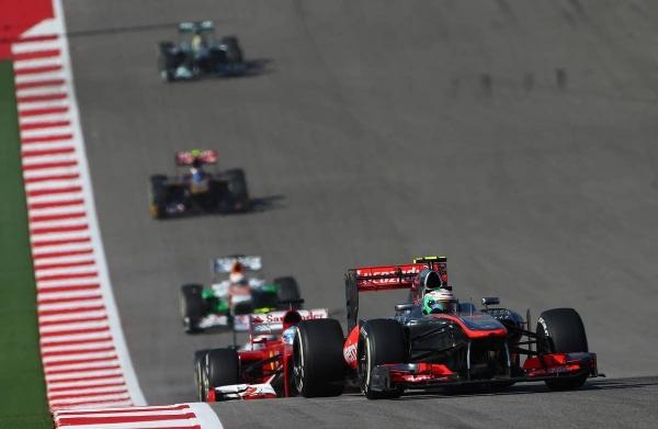 Формула 1 гран при США