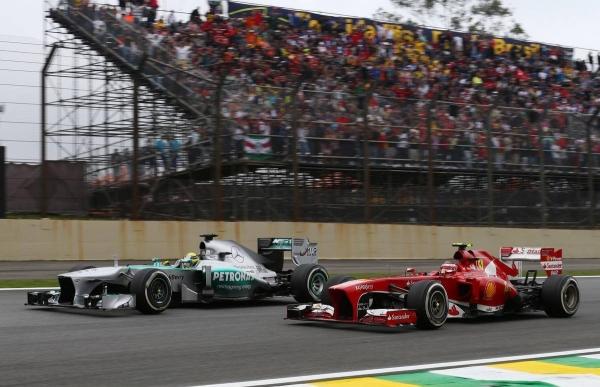 Формула 1 гран при Бразилии 2013