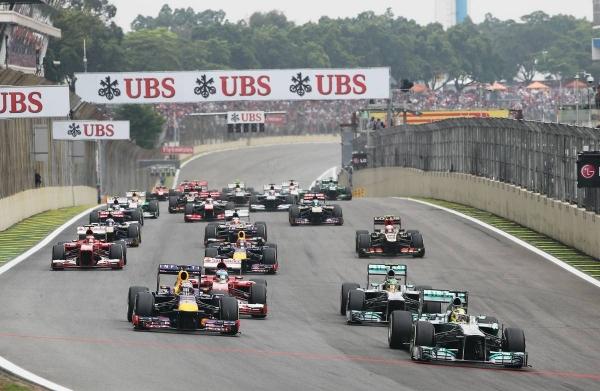 Формула 1 гран при Бразилии