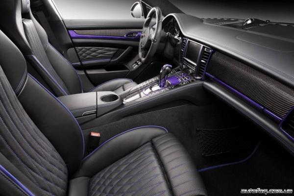 TopCar Porsche Panamera Stingray GTR интерьер