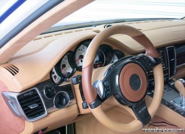 интерьер FAB Design Porsche Panamera