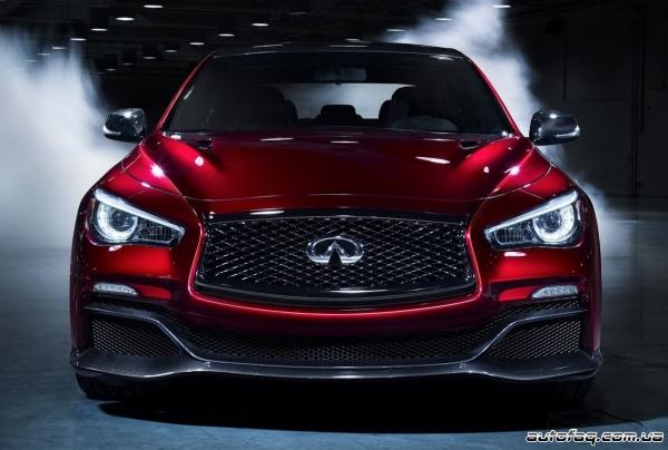 Infiniti Q50 Eau Rouge Concept 2015