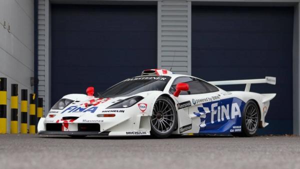 Продали McLaren F1 GTR Longtail