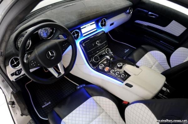 Brabus SLS AMG 700 BiTurbo