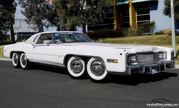 восьмиколёсный Cadillac с джакузи