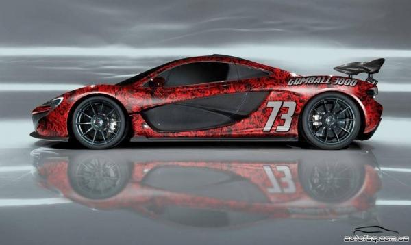 McLaren P1 Team Galag