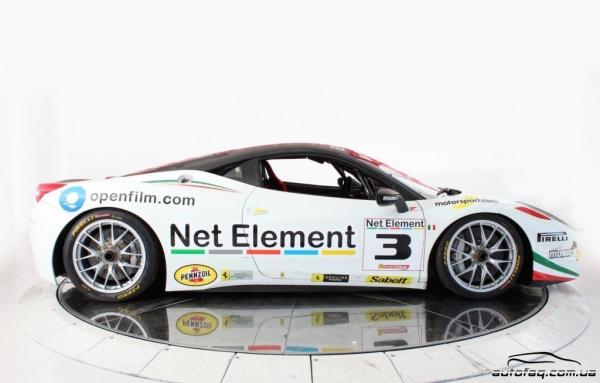 2011 Ferrari 458 Italia Challenge