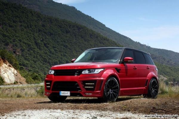 Lumma Design Range Rover CLR RS